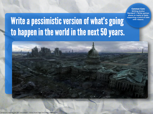 writingprompts:  #716 Pessimistic Future
