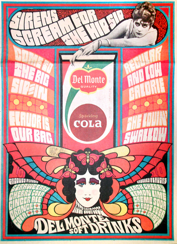 Del Monte Cola newspaper advertisement, 1967 via Gregg Koenig