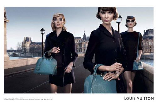 pagesdigital:  LOUIS VUITTON CROSSES BRIDGES FOR NEW CAMPAIGN
