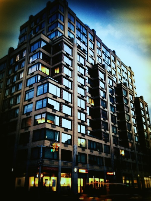 My first apartment building in NYC, a sublet in The Westminster on 7th Avenue, designed by Robert A.M. Stern. I still love that building.