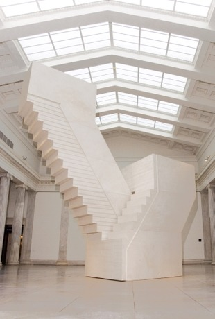 zachpape:  transient-hn:  ephemeralol:  Rachel Whiteread  Hey this is the Albright Knox I think  Yus  yes yes yes