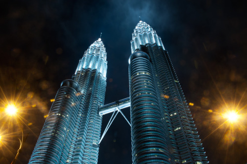 Archive Tuesday! Petronas Twin Tower in Kuala Lumpur, Malaysia. Photographed in 2007. Used to be the tallest building in the world.Every Tuesday, I will be posting a travel photo from my archive. Stay tuned for more.
