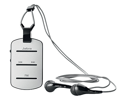 New Bluetooth headset: Fashionable and wearable Jabra Tag Take your calls and enjoy music on the go - in style. Relive your army days with this dog tag design Bluetooth stereo headset. The new Jabra Tag is available in black or white at S$128.
