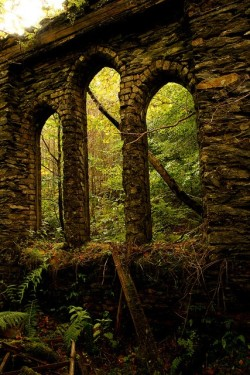bluepueblo:  Ancient Arches, Tal-y-waenydd, Wales photo via lillian