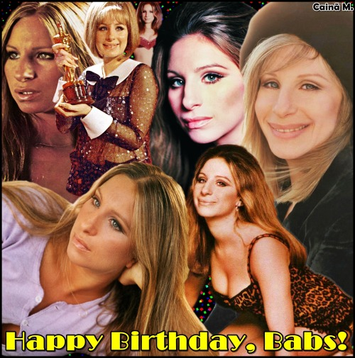 Happy bday Babs! <3
