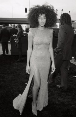 anysblog:  Solange at Grammy 2013