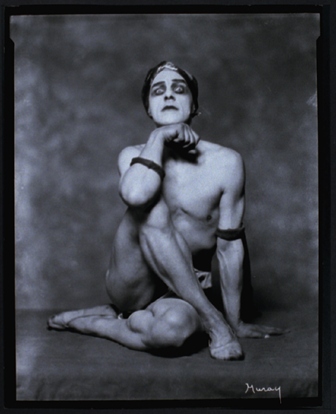 Nickolas Muray - Portrait of Dancer Mikhail Mordkin, c.1924. … via the George Eastman House