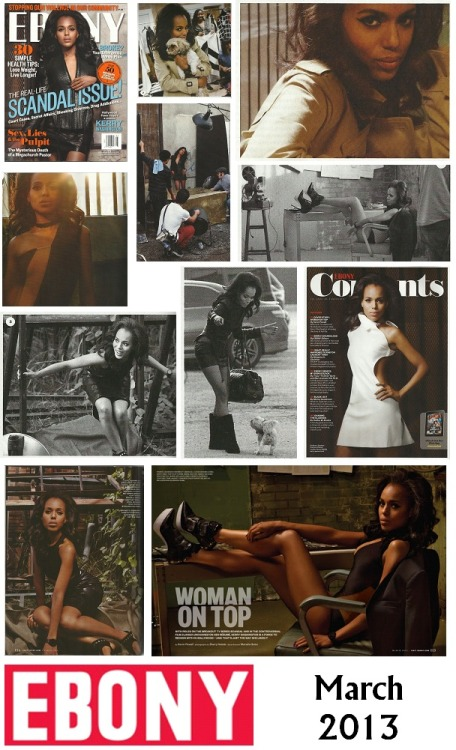 rebekahloves:  iwritethere4iam:  Kerry Washington - Ebony - March, 2013  kerry is so my girl right now.