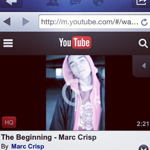 "New Rnb song out now check it out ""The Beginning"""
