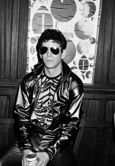 kajar:  Lou Reed in New York, by Roxanne Lowit, 1980