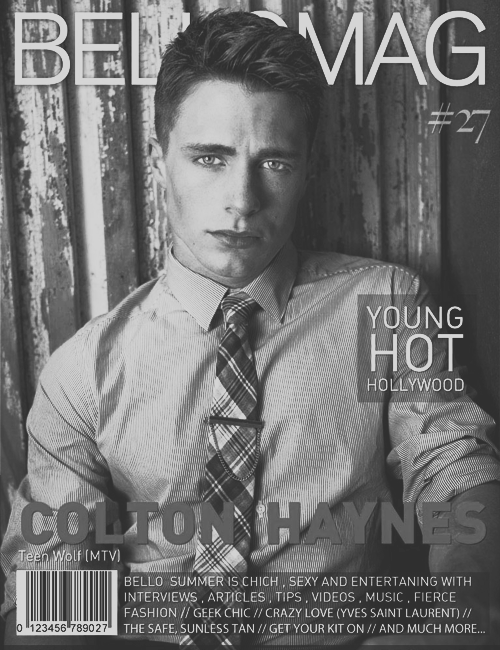 14/100 photos of colton haynes