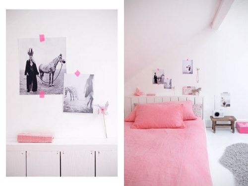 pretty in pink (via Ministry of Deco)