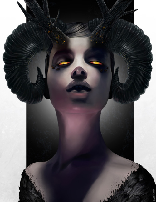 damemasnicasio:  Maleficent by *RobShields