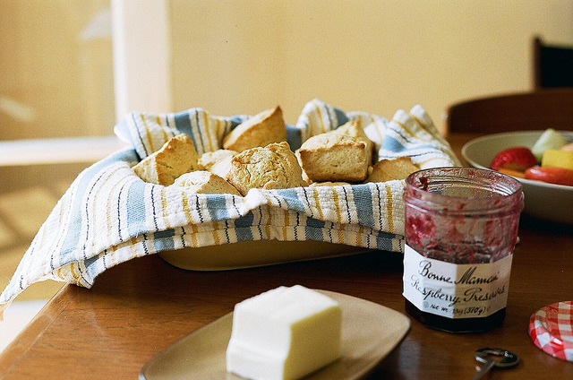 4dele:  fresh biscuits by oceanerin on Flickr.
