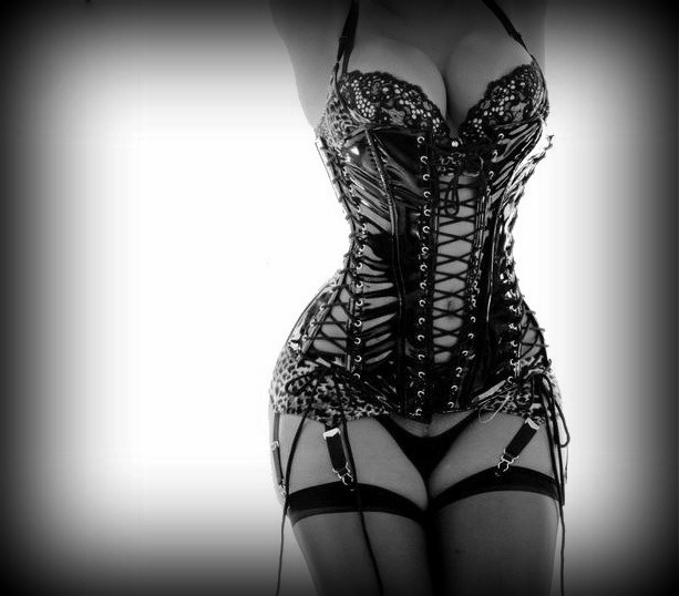 606catcher:  queenofkink1369:  Needed!  Lace-up corset and suspenders.
