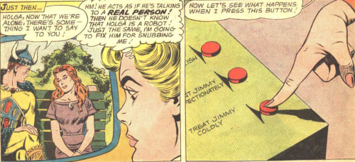 "Well just goddamnit, Lucy Lane.  (Superman's Pal Jimmy Olsen #69 ""Jimmy Olsen's Viking Sweetheart"")"