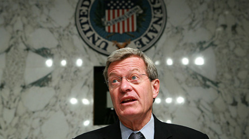 Montana Sen. Max Baucus has confirmed that he will retire rather than seek re-election in the 2014 midterm elections in a new statement released on Tuesday. The Democrat currently serves as Senate Finance Committee Chairman, and his departure will undoubtedly add to the growing fear among Democrats that the party could lose its majority in the 100-member Senate in the very near future. (Photo via Ars Skeptica) source