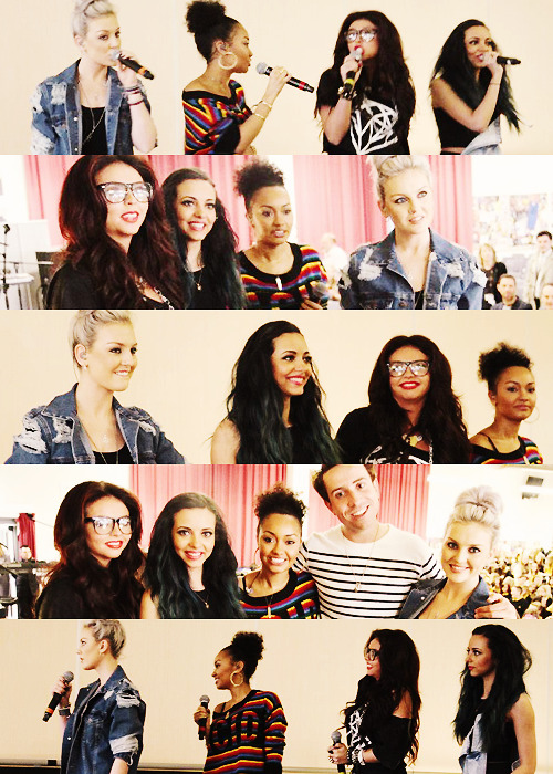 Little Mix at BBC Radio 1 Breakfast with Nick Grimshaw (08/05/13)