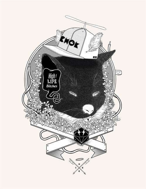 "I just posted ""High life "" alex Ghevara  (Chile) via Curioos"