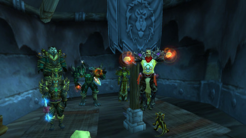 Oh, and while I was setting up the last screenshot, this rogue came in and unwittingly photobombed my shot.