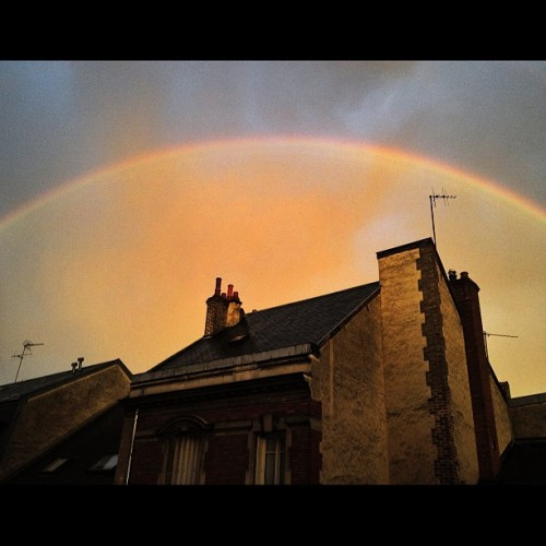 Fucking Rainbow #reims #france #earth