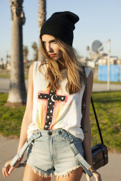 Melt the rainbow in faded pastels and cutoffs from UNIF ☼♥☾