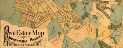 The BO Railroad Between DC and Rockville (1890)Real estate map of the Metropolitan Branch of the Baltimore and Ohio Railroad Company between…View Postshared via WordPress.com