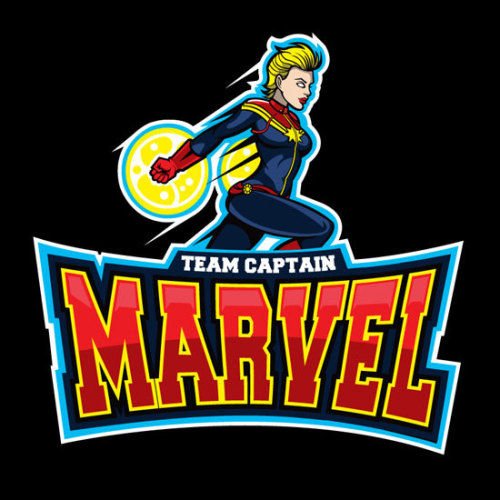 Marvel Varsity Tees by Sam Ho Shirts available at welovefine