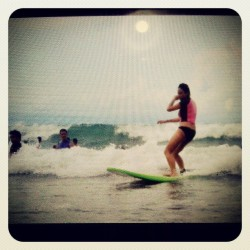 Yey #surf  weekend #baler #summer  (at Sabang Beach)