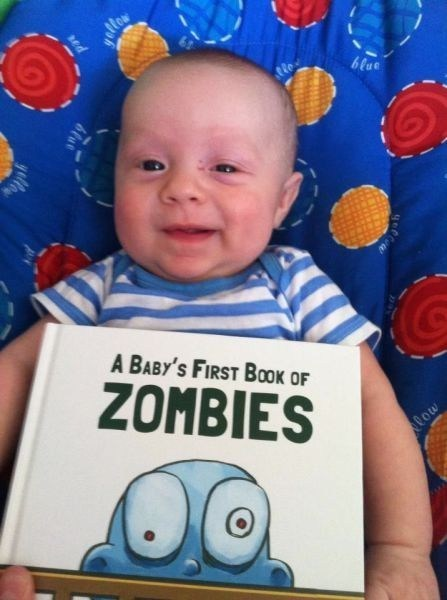 A Baby's First Book of Zombies