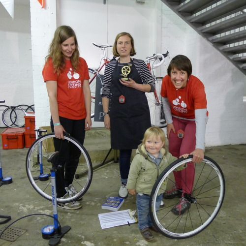 Congratulations to the London Cycling Campaign for winning the award for best stand at SPIN London last weekend.  (via London Cycling Campaign)