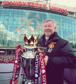 "iloveunited:  ""It is a fitting tribute to the manager after so long and so much success. As much as it is for the team, its for the manager, for himself, what he has achieved and what he has done to this football club. He deserves everything he has got. He has been brilliant for us all. He is a great manager, he is successful and he is a winner. To do it for so long is incredible, he is a fantastic manager."" - Wayne Rooney"