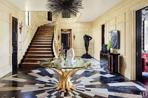 {On the blog} Interiors: Bold in Bel Air