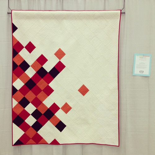 grumpystitches:  Just found my quilt in the show!! So exciting :)#quiltcon by PileOFabric on Flickr.