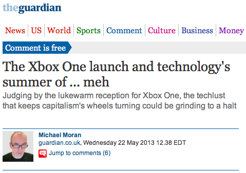will apathy over the new xbox finally bring about proletarian revolution in the west?