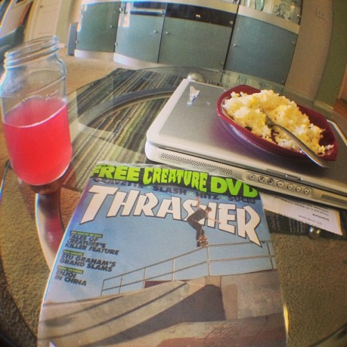 cultclancrew:  Groovy ass afternoon #ccc #thrasher