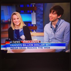 Happy for these guys @Tumblr @DavidKarp @MarissaMayer ^ps #MadeInNy
