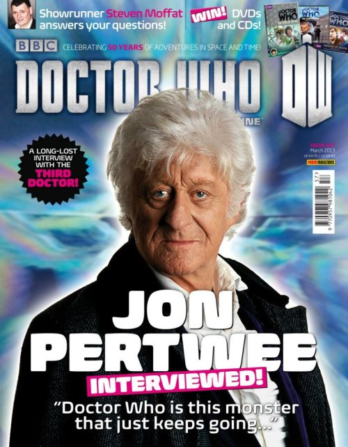 The cover for Doctor Who Magazine Issue 457