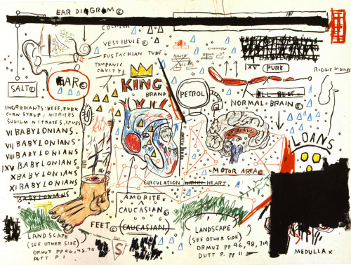 King Brand by Jean-Michel Basquiat.