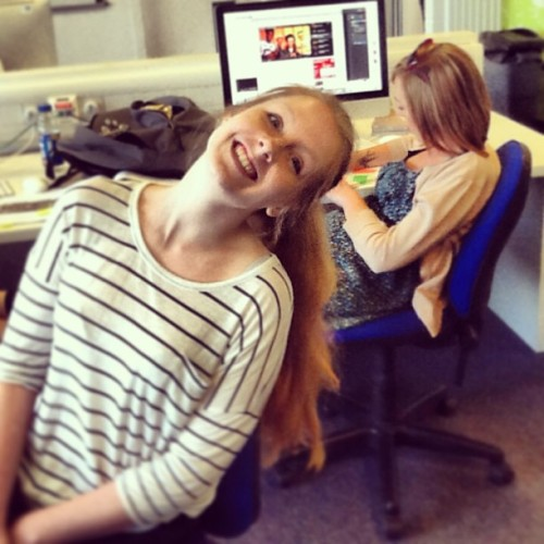 Team #thiswondrousisle hard at work! @liv_lar by fionatarbet http://bit.ly/11XSV3G