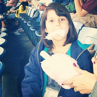 in honor of baseball season 🐯 #tigers #baseball #funny #cottoncandy #tbt #throwbackthursday #tigersgame #detroit #tigersstadium #me
