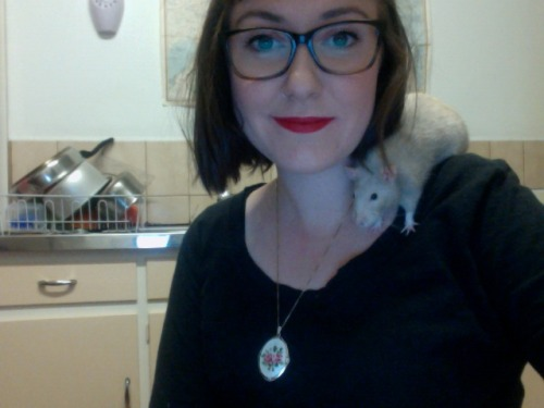 RIP Bonnie the lovely little rat.