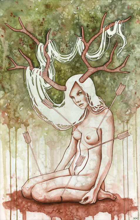 artmonia:  Attrition by Kelly McKernan.