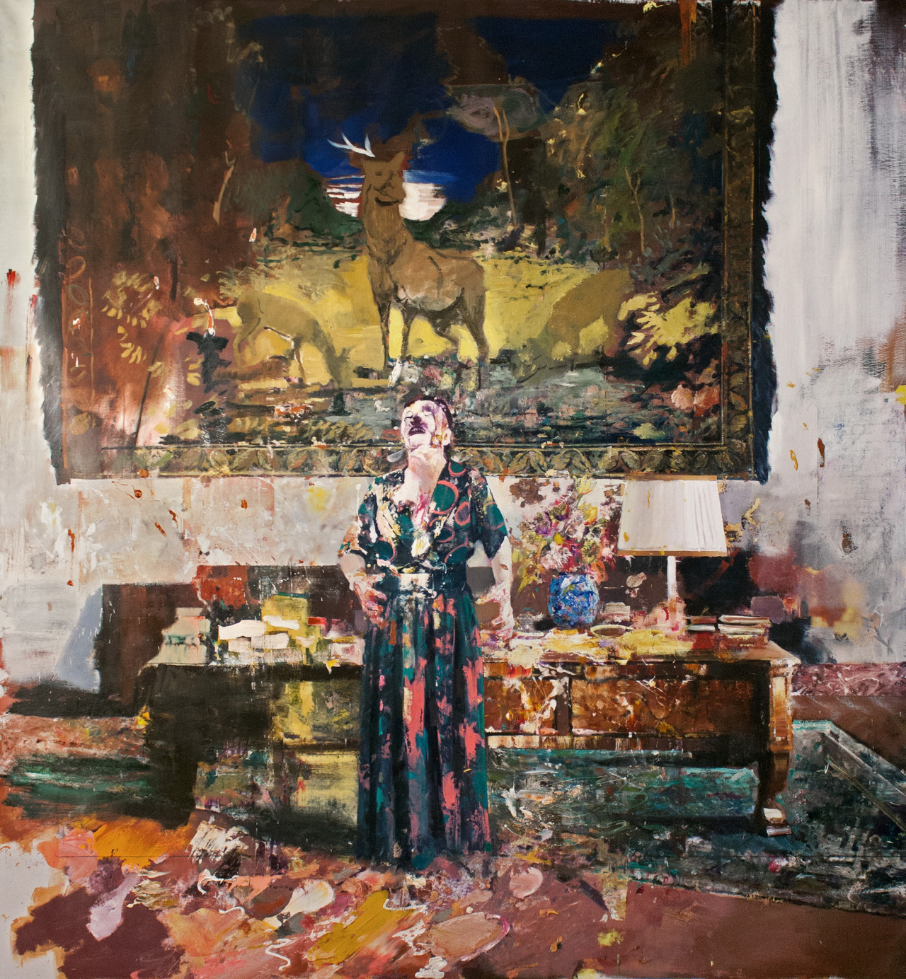 Pace's first exhibition of the young Romanian artist Adrian Ghenie will close tomorrow, Saturday, May 4th, 2013.  We hope you can stop by 534 West 25th Street.  © Adrian Ghenie, courtesy Pace Gallery