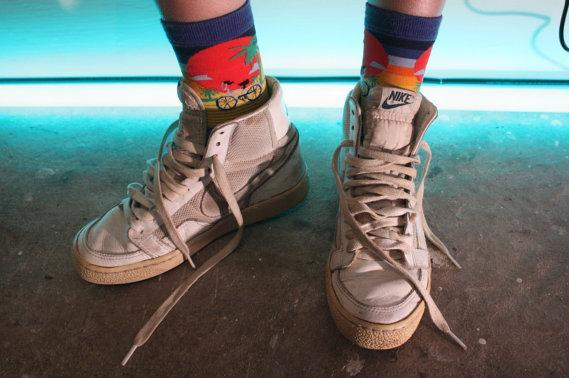 strawberryemotions:  Awesome Nike Korean Hi tops!