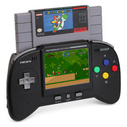 umm… Yes please, thank you! (via ThinkGeek :: Retro Duo Portable NES/SNES Game System)