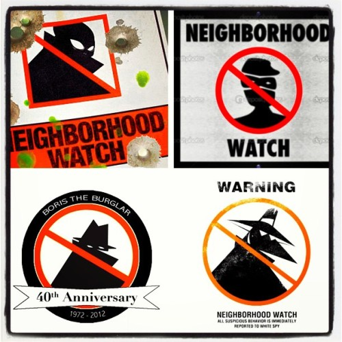 It doesn't matter where you go, the one's the neighborhood watch out for are the black people. #SubliminalMessage #Nerdland #wakeup #NeighborhoodWatch #picstitch #realize #Truth #BorisTheBurgular
