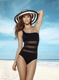stormtrooperfashion:  Nina Agdal for Penti Swimwear 2013