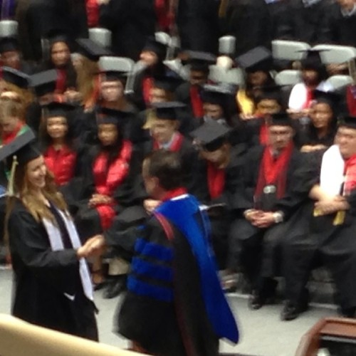 Yaya Congratulations @christynoele!!!! …Now welcome to the real world. #bathsalts #grad #graduation #claasof2013 #sister #family #love #gw  (at George Washington University)