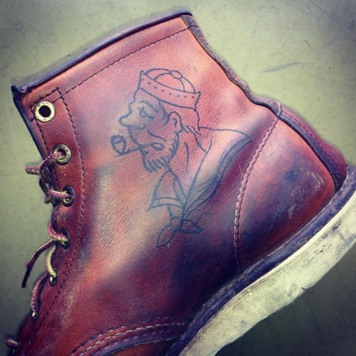 redwingheritage:  Red Wing 875 and one sailor